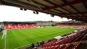Exeter will compete in the League Two play-offs (Mark Kerton/PA)