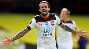 Danny Ings is determined to add to his single England cap (Richard Heathcote/NMC Pool)