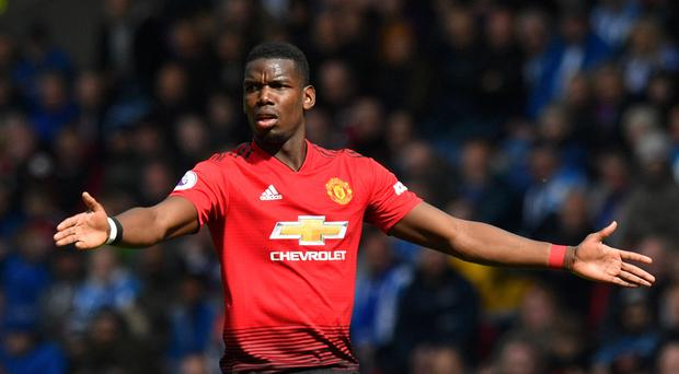 Paul Pogba has been linked with a summer move away from Manchester United. (Anthony Devlin/PA)
