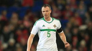 Jonny Evans is expected to make his first appearance of the season for Northern Ireland on Friday