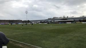 South Shields are among the clubs who have written to the FA to complain about the decision to void the non-league season (@StevenSOS1987/Twitter)