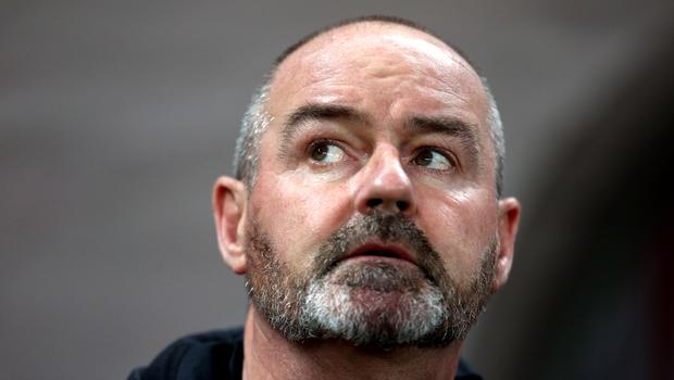 Steve Clarke's Scotland will face Israel in the Euro 2020 qualifying play-offs (Steven Paston/PA)