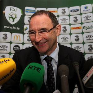 Martin O'Neill is looking forward to taking on Scotland