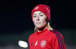Arsenal and England star Leah Williamson fears a loss of momentum for the women's game (Tess Derry/PA)