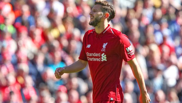 Adam Lallana lacked the impact of Gareth Bale