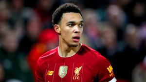Trent Alexander-Arnold will take on professional Esports player Ryan Pessoa on FIFA 20 (Nick Potts/PA)