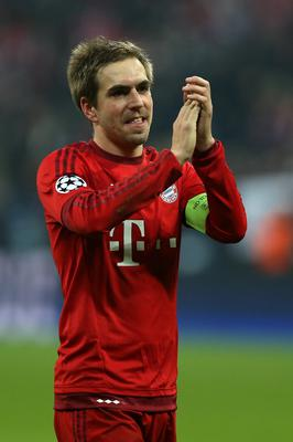 Jupp Heynckes thinks Joshua Kimmich can follow in the footsteps of Philipp Lahm (pictured)
