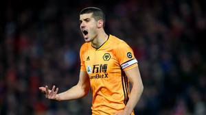 Wolves captain Conor Coady has concerns over the coronavirus. (Nick Potts/PA)