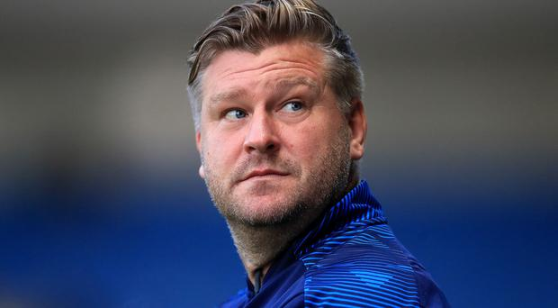 Oxford manager Karl Robinson is preparing to face Carabao Cup holders Manchester City (Adam Davy/PA)