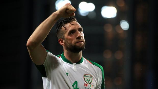 Shane Duffy will captain the Republic of Ireland as they attempt to seal Euro 2020 qualification against Denmark (Bradley Collyer/PA)