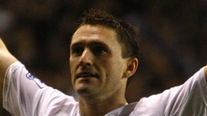 Robbie Keane starred for the Los Angeles Galaxy