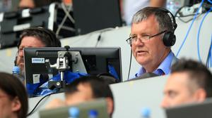 Clive Tyldesley released a light-hearted video on Monday morning (Mike Egerton/PA)