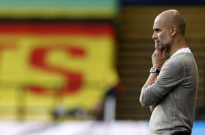 Pep Guardiola's Manchester City had been faced with the prospect of a European ban (John Sibley/NMC Pool)