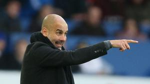 Pep Guardiola needs his Manchester City side to keep Liverpool's forwards quiet in the Champions League