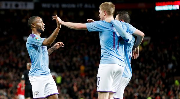 Manchester City have a commanding lead (Martin Rickett/PA)