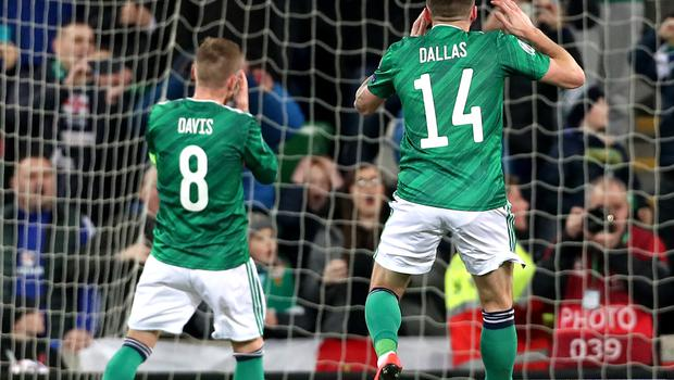 Steven Davis missed a penalty as Northern Ireland drew with Holland (Liam McBurney/PA)