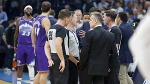 Play was set to start in Utah when the season was suspended (Bryan Terry/AP)