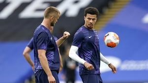 Eric Dier, left, and Dele Alli are known to have a close friendship (Will Oliver/PA)