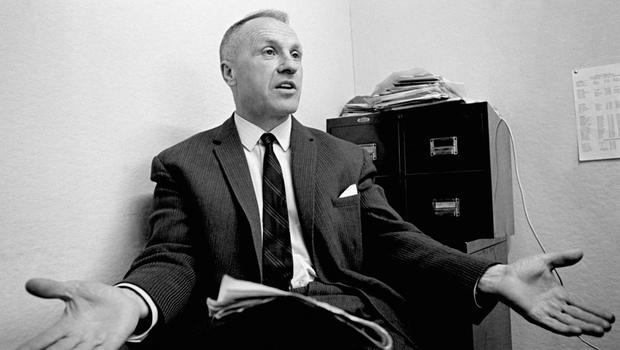 Soccer – Bill Shankly In His Office
