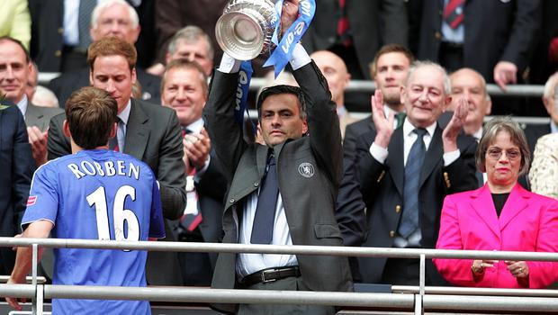 Mourinho last won the FA Cup in 2007 when his Chelsea side beat current club Manchester United