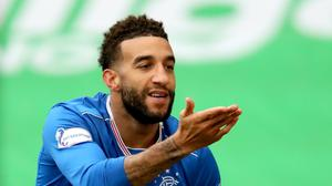 Connor Goldson was at the double for Rangers (Jane Barlow/PA)