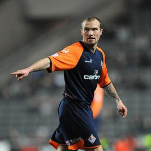 Warren Feeney's Linfield side won their Europa League qualifying first round first leg tie.