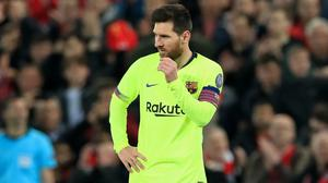 Lionel Messi has asked to leave Barcelona this summer. (Peter Byrne/PA)