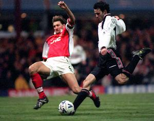 Ryan Giggs' fabulous solo goal put United into the 1999 FA Cup final (Dave Jones/PA)