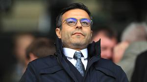 Leeds owner Andrea Radrizzani hopes to be able to complete the season on the pitch (Mike Egerton/PA)
