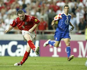 Wayne Rooney was in scintillating form against Croatia at Euro 2004 (Nick Potts/PA)