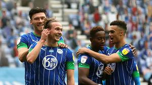 Wigan claimed the biggest league win in their history against Hull (Martin Rickett/PA)