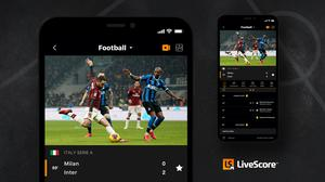 Serie A and the Portuguese Primeira Liga will be available on LiveScore's app (handout/PA)