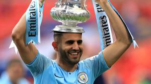 Riyad Mahrez has another chance of silverware with Algeria in the Africa Cup of Nations final (Mike Egerton/PA)