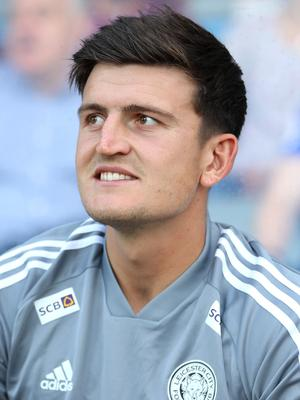 Harry Maguire came on at half-time (PA)