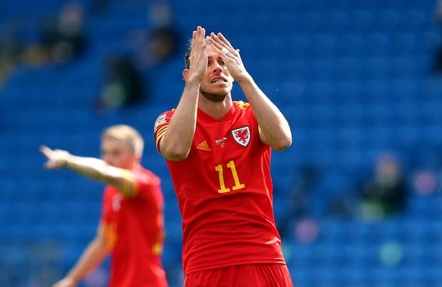 Wales' record goalscorer Gareth Bale has not scored for his country since October 2019 (David Davies/PA)