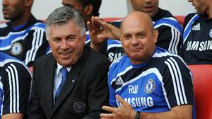 Ray Wilkins worked with several Chelsea managers, including Carlo Ancelotti. (Owen Humphreys/PA)