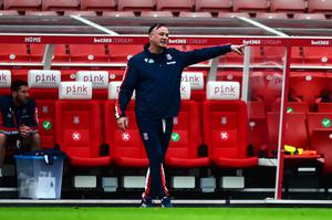 Killer blow: Michael O'Neill is sure Stoke can pull off another giant-killing against Spurs