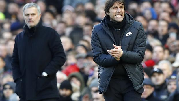 Chelsea head coach Antonio Conte says a truce has been called in his feud with Manchester United boss Jose Mourinho