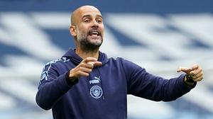 Pep Guardiola is ready for the challenge of Real Madrid (Dave Thomson/NMC Pool)