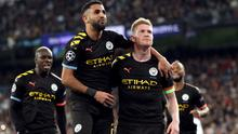 Kevin De Bruyne (right) hailed his side's character (Nick Potts/PA)