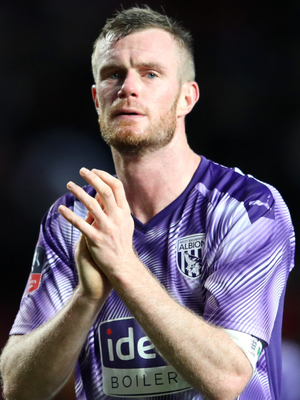 Wanted man: Chris Brunt could leave West Brom