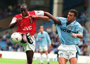 Curle (right) reached the top in his playing career with Manchester City (John Giles/PA)