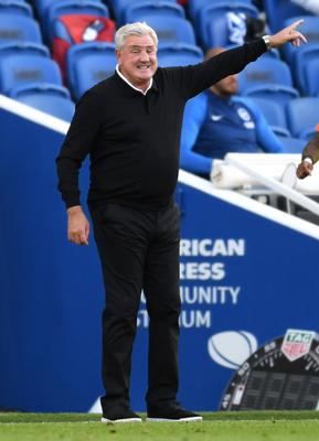 Newcastle manager Steve Bruce could be given a chance to prove himself under potential owner Henry Mauriss (Mike Hewitt/NMC Pool)
