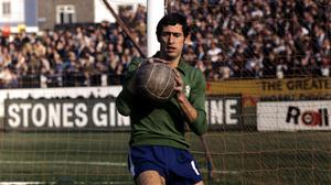 Peter Bonetti, the former Chelsea goalkeeper, has died at the age of 78 (PA)