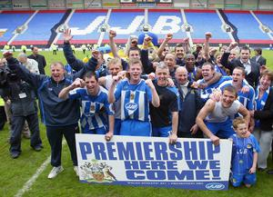 Wigan secured promotion to the top-flight in 2004 (Martin Rickett/PA)