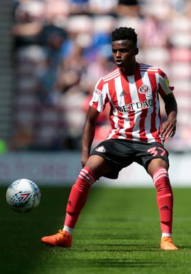 Sunderland's Bali Mumba looks set to join Norwich (Graham Stuart/PA)