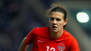 Canada's Christine Sinclair has scored in five World Cups (Mike Egerton/PA)