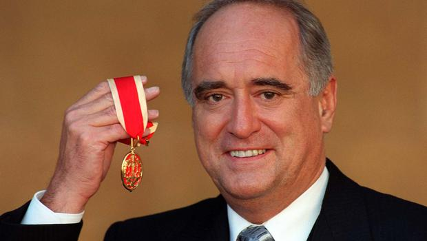 Lord Mawhinney was knighted by the Prince of Wales in 1997 (Michael Stephens/PA)