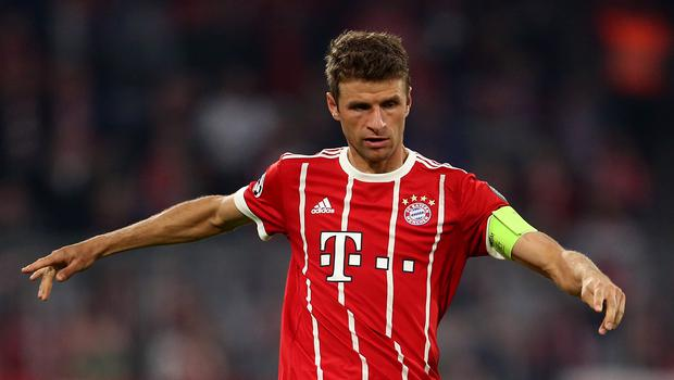 Thomas Muller provided two assists