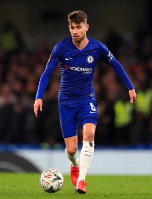 Jorginho, pictured, could step up for Chelsea if Billy Gilmour is sidelined (Mike Egerton/PA)